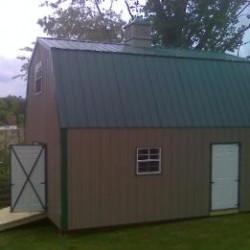 Gambrel Barn with Loft