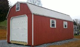 Gambrel with Garage